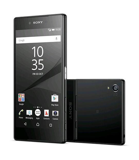 【中古】【安心保証】 SIMフリー XperiaZ5Premium ブラック