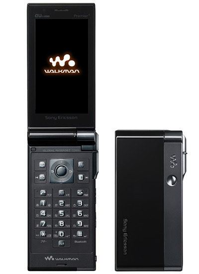 【中古】【安心保証】 au Mobile Walkman Phone, Premier3 SOY01