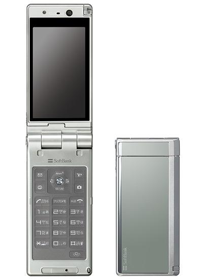 【中古】【安心保証】 SoftBank 930P シルバー