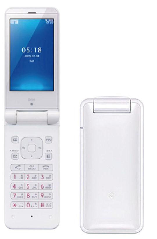 【中古】【安心保証】 au KYX02 ホワイト