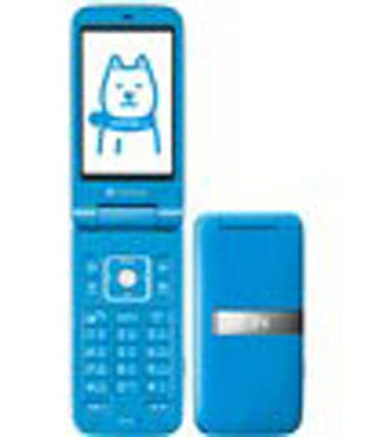 【中古】【安心保証】 SoftBank 001SH ブルー