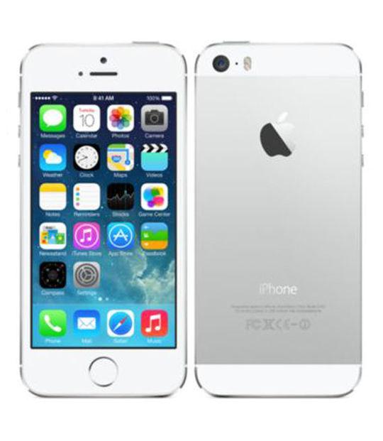 【中古】【安心保証】 docomo iPhone5s[16GB-d] シルバー