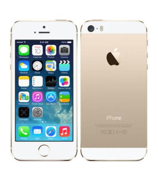 【中古】【安心保証】 docomo iPhone5s[16GB-d] ゴールド