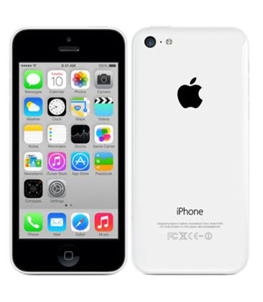 【中古】【安心保証】 docomo iPhone5c[16GB-d] ホワイト