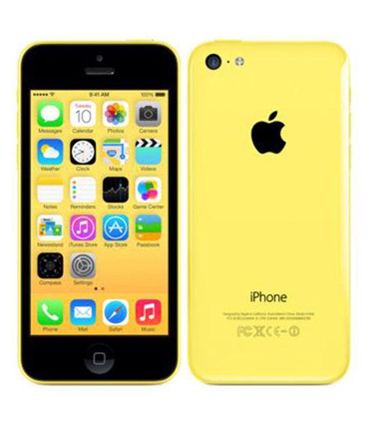 【中古】【安心保証】 docomo iPhone5c[16GB-d] イエロー