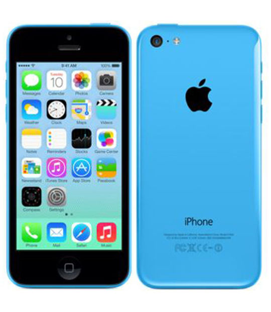 【中古】【安心保証】 SoftBank iPhone5c[16GB-s] ブルー