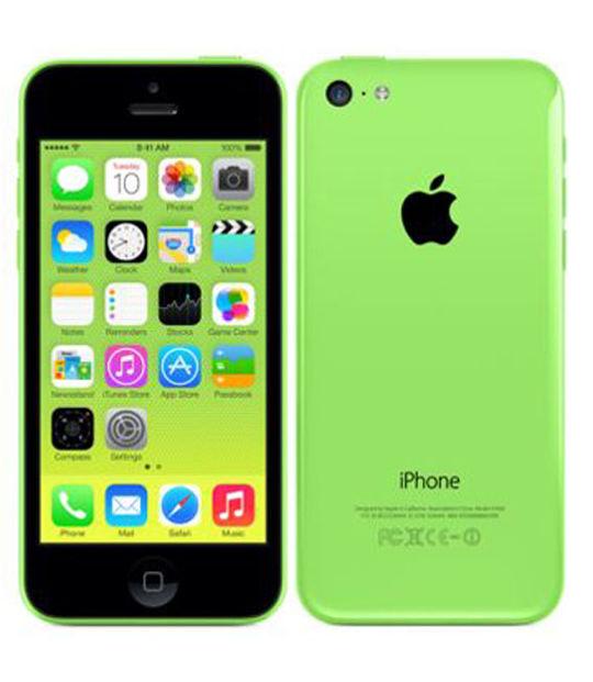 【中古】【安心保証】 SoftBank iPhone5c[16G] グリーン