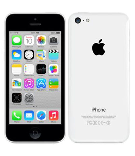 【中古】【安心保証】 SoftBank iPhone5c[32G] ホワイト