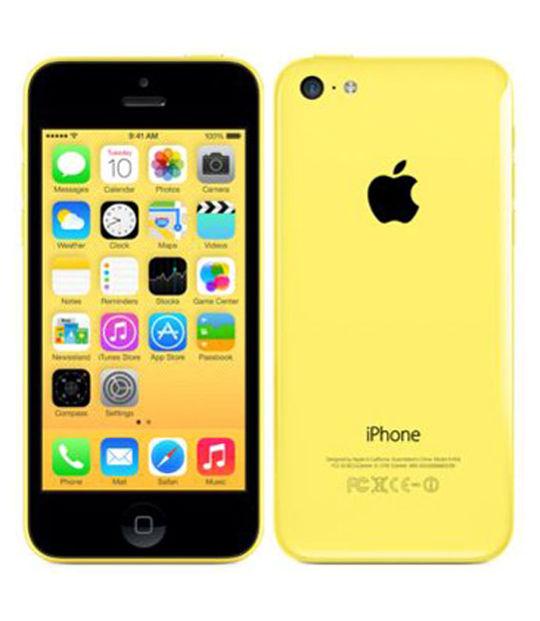 【中古】【安心保証】 SoftBank iPhone5c[32GB-s] イエロー