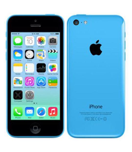 【中古】【安心保証】 SoftBank iPhone5c[32G] ブルー