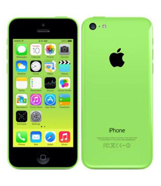 【中古】【安心保証】 SoftBank iPhone5c[32G] グリーン