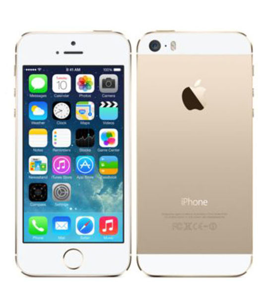 【中古】【安心保証】 au iPhone5s[16GB-a] ゴールド