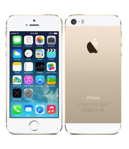 【中古】【安心保証】 au iPhone5s[64G] ゴールド