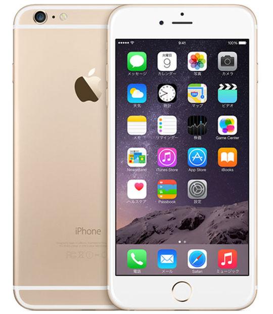 【中古】【安心保証】 docomo iPhone6Plus[16G] ゴールド