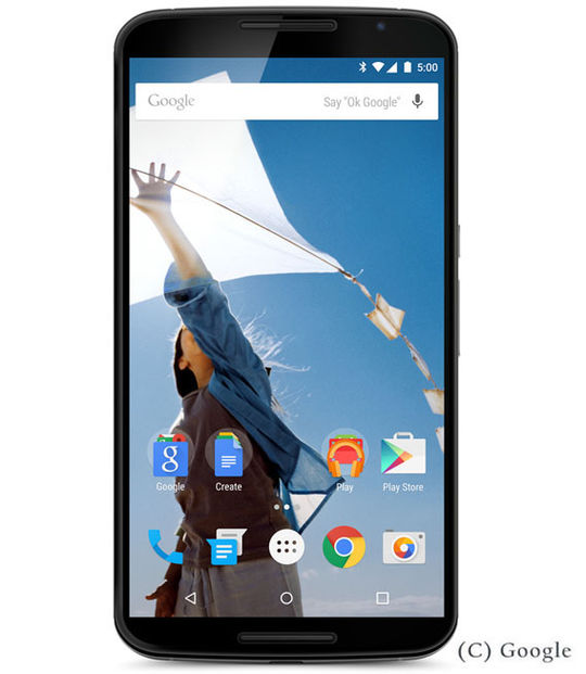 【中古】【安心保証】 Y!mobile MOTOROLA Nexus6 32GB
