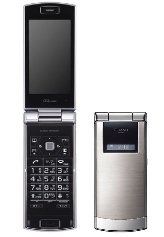 【中古】【安心保証】 au Mobile URBANO MOND SOY04
