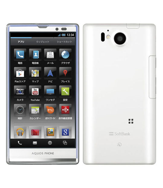【中古】【安心保証】 SoftBank AQUOS PHONE Xx 106SH
