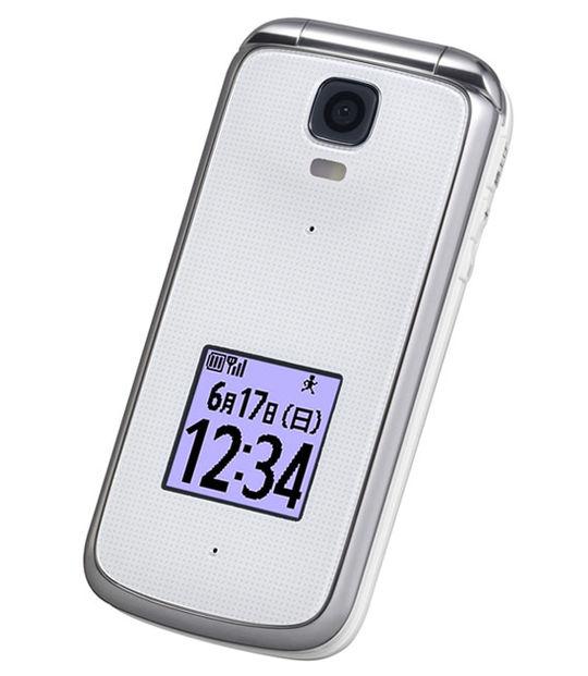 【中古】【安心保証】 au K012[KY012] ホワイト