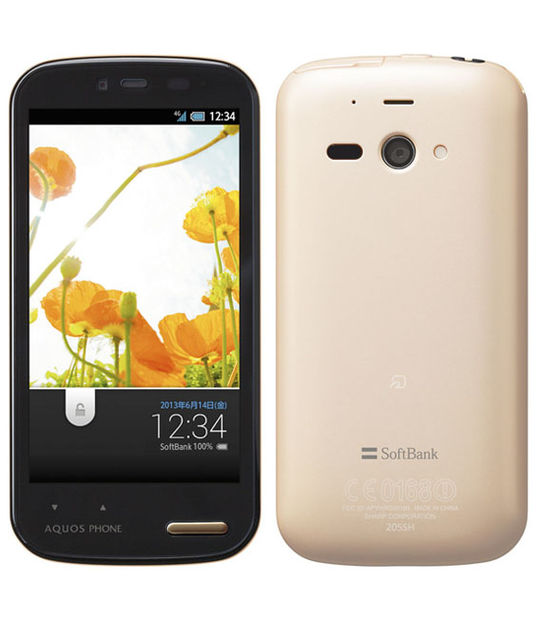 【中古】【安心保証】 SoftBank AQUOS PHONE ss 205SH