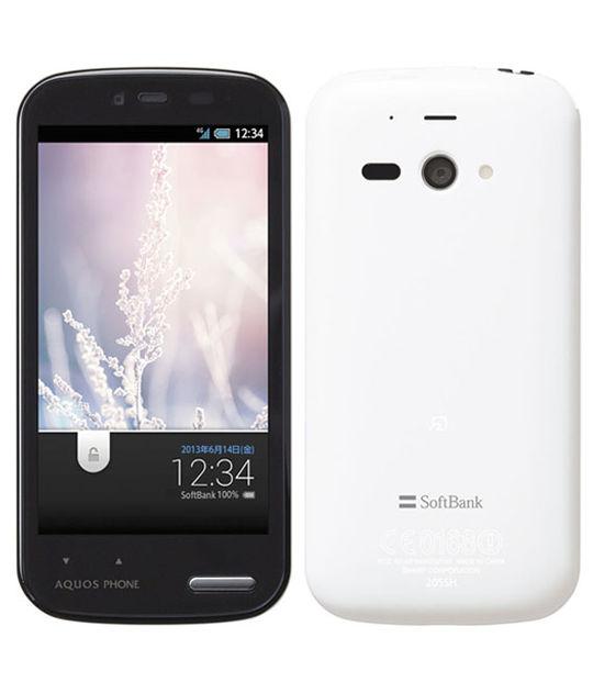 【中古】【安心保証】 SoftBank 205SH ホワイト