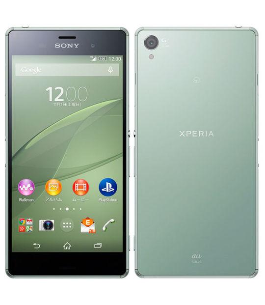 【中古】【安心保証】 au Mobile Xperia Z3 SOL26