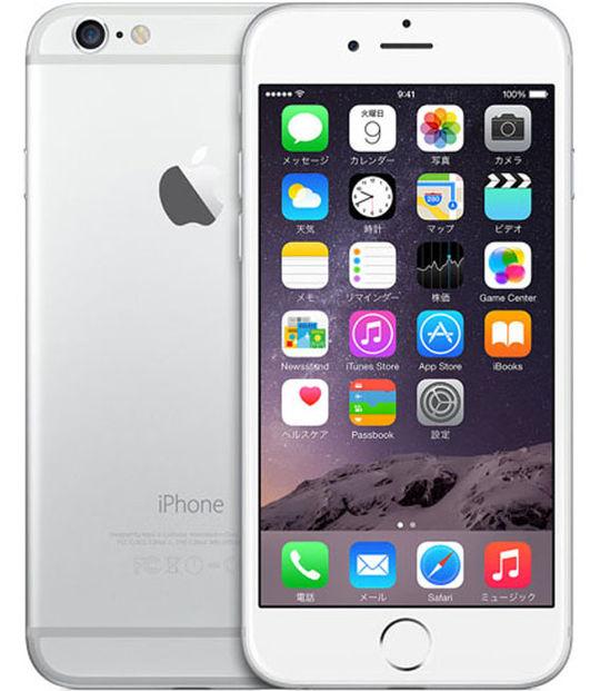 【中古】【安心保証】 SIMフリー iPhone6[16G] シルバー