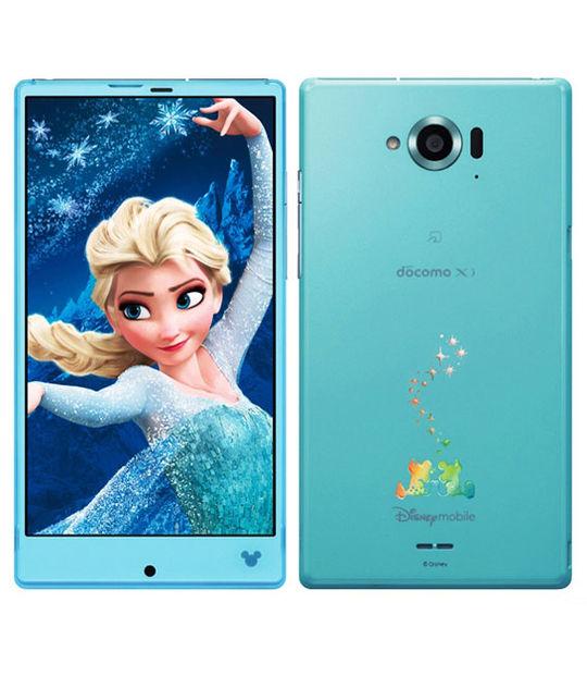 【中古】【安心保証】 docomo Disney Mobile on docomo SH-02G