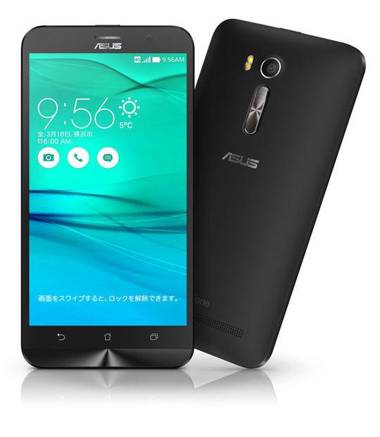 【中古】【安心保証】 SIMフリー ZenFoneGo[16G] ブラック