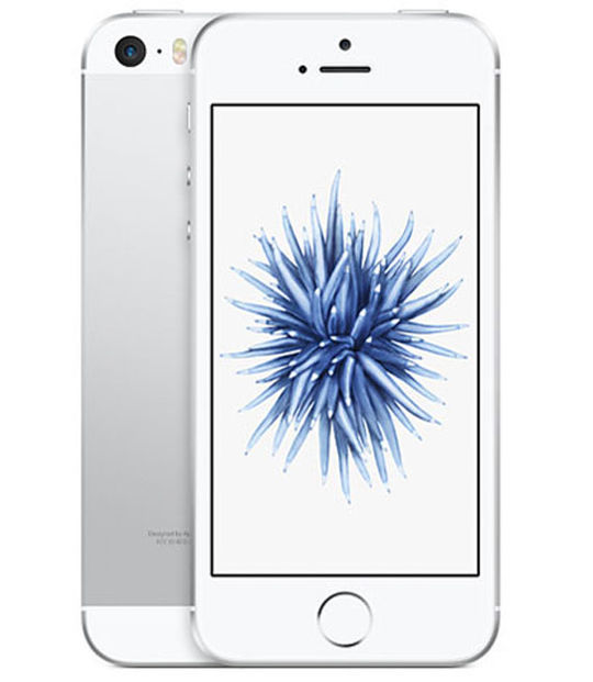 【中古】【安心保証】 au iPhoneSE 16GB シルバー SIMロック解除済