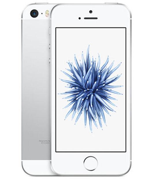 【中古】【安心保証】 au iPhoneSE 64GB シルバー SIMロック解除済