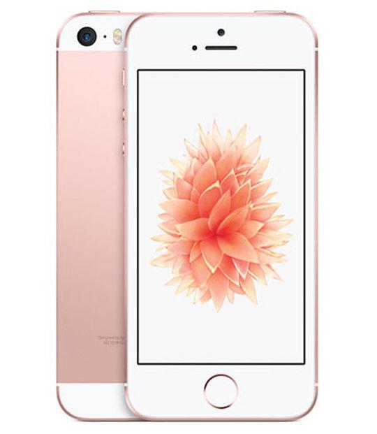 【中古】【安心保証】 SIMフリー iPhoneSE[16GB] ローズゴールト
