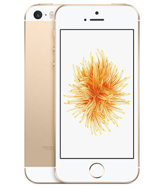 【中古】【安心保証】 SIMフリー iPhoneSE[64GB] ゴールド