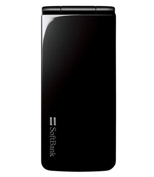 【中古】【安心保証】 SoftBank 002P Biz ブラック