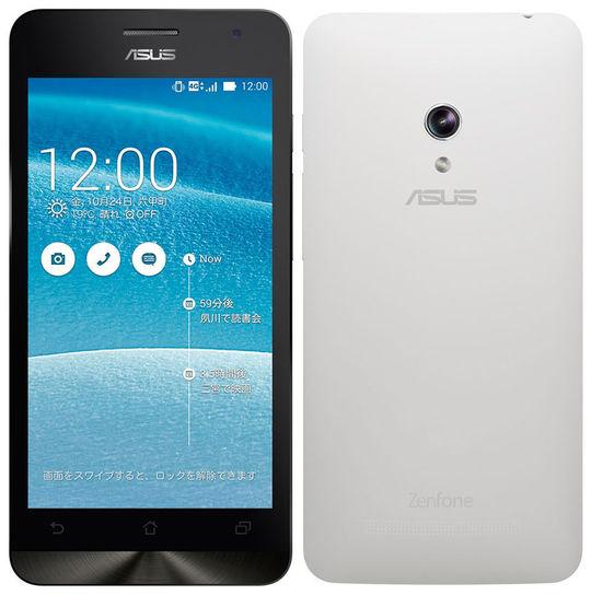 【中古】【安心保証】 SIMフリー ZenFone5[16GB] ホワイト