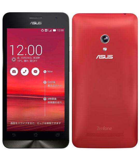 【中古】【安心保証】 SIMフリー ZenFone5[16GB] レッド