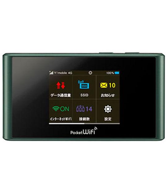 【中古】【安心保証】 Y!mobile 305ZT ブラック