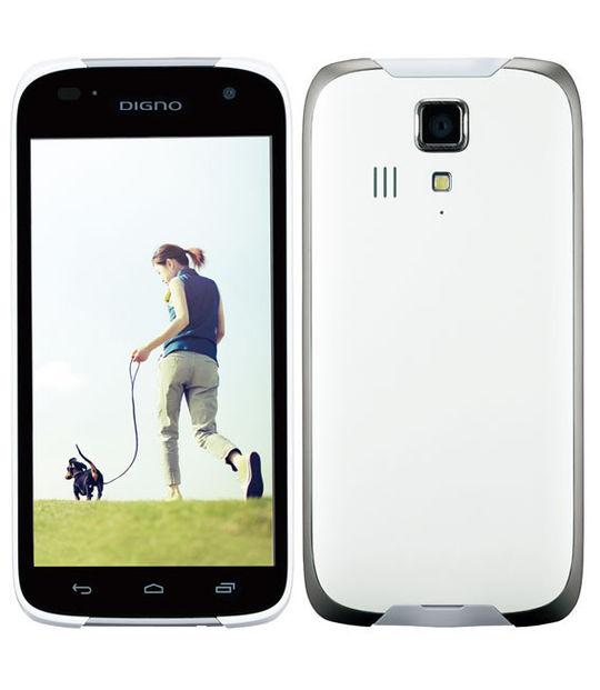 【中古】【安心保証】 Y!mobile 302KC ホワイト