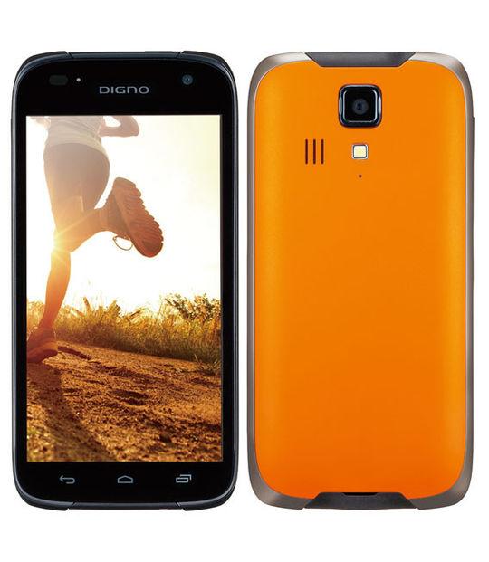 【中古】【安心保証】 Y!mobile 302KC オレンジ