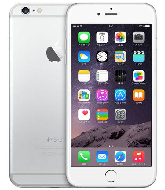 【中古】【安心保証】 docomo iPhone6Plus[128G] シルバー