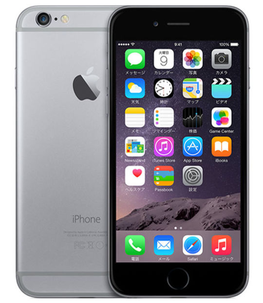 【中古】【安心保証】 SoftBank iPhone6[128GB] スペースグレイ
