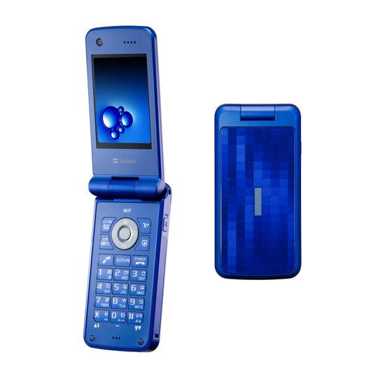 【中古】【安心保証】 SoftBank 822T ブルー