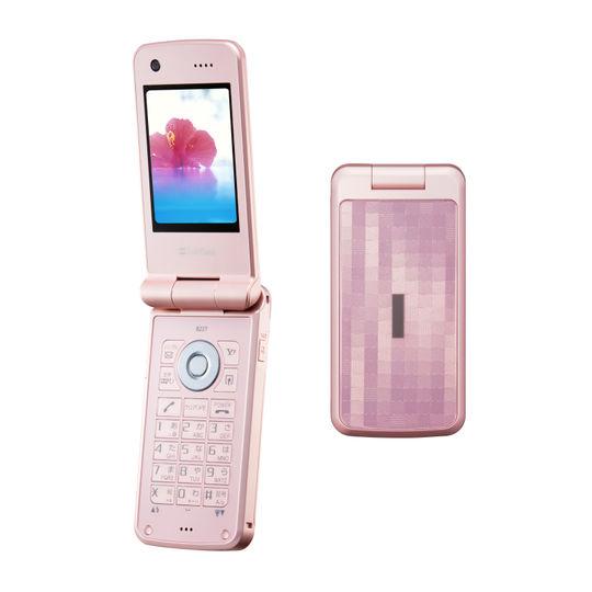 【中古】【安心保証】 SoftBank 822T ピンク