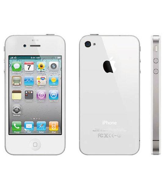 【中古】【安心保証】 SoftBank iPhone4[32G] ホワイト