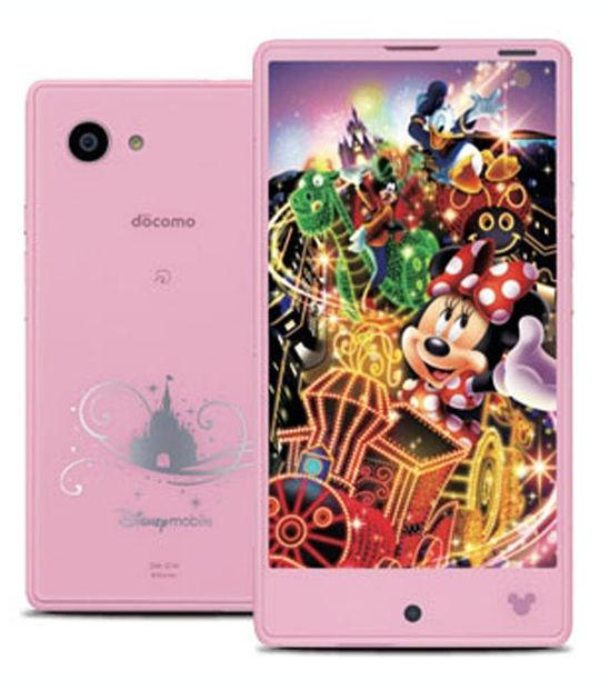 【中古】【安心保証】 docomo Disney Mobile on docomo DM-01H