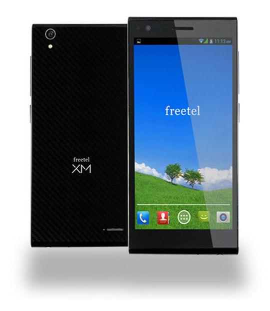 【中古】【安心保証】 SIMフリー freetelLTEXM ブラック