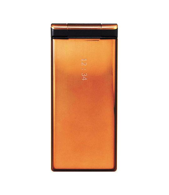 【中古】【安心保証】 Y!mobile DIGNO ケータイ 502KC カッパー
