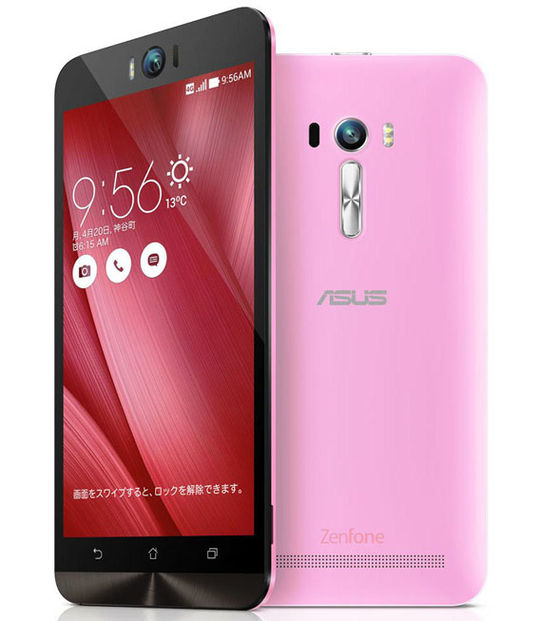 【中古】【安心保証】 SIMフリー ZenFoneSelfie[16G] ピンク