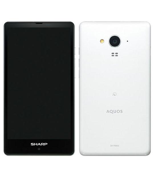 【中古】【安心保証】 SIMフリー SHーRM02 ホワイト