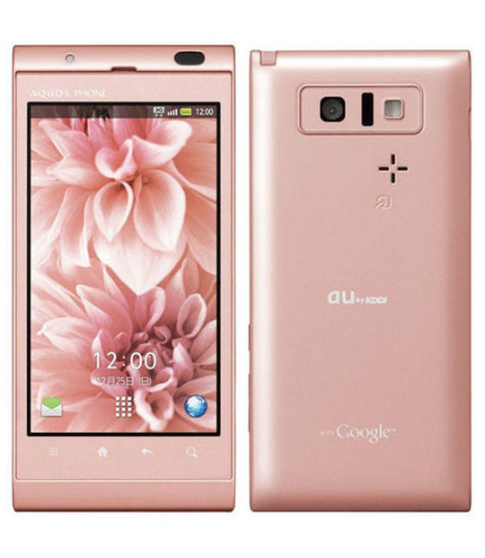 【中古】【安心保証】 au AQUOS PHONE IS14SH SHI14