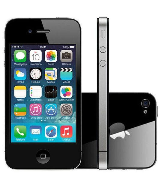 【中古】【安心保証】 au iPhone4S[32GB] ブラック
